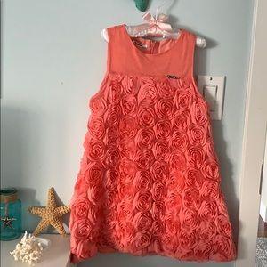 Mayoral Kids Girls party dress. Size 6